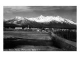 Palmer, Alaska - Panoramic View of Matanuska Valley, Town Prints by  Lantern Press