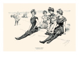 Picturesque America Prints by Charles Dana Gibson