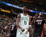 Miami Heat v Boston Celtics - Game Four, Boston, MA - MAY 9: Kevin Garnett Foto af Brian Babineau