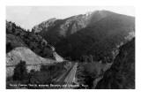 Montana - Rocky Canyon between Bozeman and Livingston Print by  Lantern Press