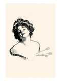 Pierced In the Heart Print by Charles Dana Gibson