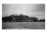 Metlakatla, Alaska - View of Waterfront from a Steamer Prints by  Lantern Press