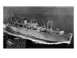 USNS James O'Hara Ship Aerial Posters by  Lantern Press