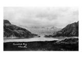 Alaska - Panoramic View of Amalik Bay Posters by  Lantern Press