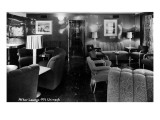 MV Chinook Ship Interior View of After Lounge Poster