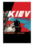 Kiev - Intourist U.S.S.R. Posters
