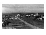Walden, Colorado - General View of Town Art by  Lantern Press