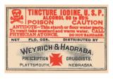 Tincture Iodine U.S.P. Prints