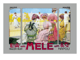 Mode Novita, E. A. Mele Prints by Leopoldo Metlicovitz