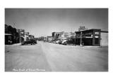 Polson, Montana - Main Street Poster von  Lantern Press