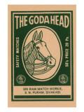 The Goda Head Poster