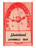 It's Fun To Roller Skate Posters