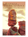 Chiricahua National Monument - Pinnacle Balanced Rock Art Print Lantern Press
