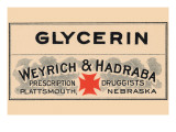 Glycerin Posters