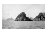 Seward, Alaska - View of Harding Gateway Print