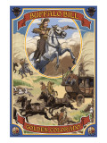 Buffalo Bill Scene - Golden, Colorado Posters by  Lantern Press