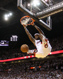 Boston Celtics v Miami Heat - Game Five, Miami, FL - MAY 11: LeBron James Photographie par Mike Ehrmann