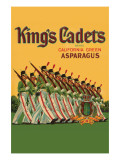 King's Cadets California Green Asparagus Prints
