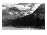 Glacier Nat'l Park, Montana - Going-to-the-Sun Hwy View Posters by  Lantern Press