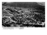 Olean, New York - Seneca Heights Aerial from Mt Hermance Print