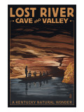 Lost River Cave and Valley - A Kentucky Natural Wonder Prints by  Lantern Press