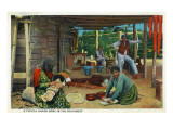 Typical Indian Home in the Southwest Art by  Lantern Press
