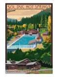 Sol Duc Hot Springs, Olympic National Park, Washington Prints by  Lantern Press