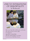 Ode To Intimations of Immortality Poster