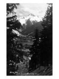 Colorado - Bear Mountain from Million Dollar Hwy Plakat