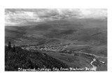 Steamboat Springs, Colorado - Aerial View of Town from Blackmer Drive Posters by  Lantern Press