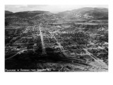 Durango, Colorado - Panoramic View from Smelter Hill Posters by  Lantern Press