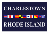 Charlestown, Rhode Island - Nautical Flags Posters by  Lantern Press