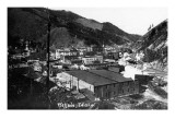 Wallace, Idaho - General View of Town Posters