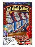 Las Vegas Casino Montage Prints
