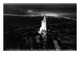 Colorado Springs, Colorado - Will Rogers Shrine of the Sun on Cheyenne Mt at Night Prints