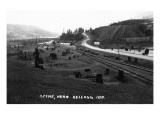 Kellogg, Idaho - Railroad Track Scene Posters by  Lantern Press