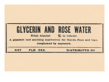 Glycerin and Rose Water Photo
