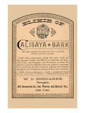 Elixir of Calisaya Bark Posters