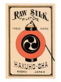 Hakuho-Sha Raw Silk Filature Posters