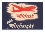 Airfresh Via Airfreight Prints