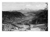 Glenwood Springs, Colorado - Traver Ranch View; Roaring Fork River Valley Poster von  Lantern Press