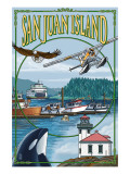 San Juan Island Views Posters by  Lantern Press