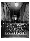 Wallin & Nordstrom Shoe Store - Seattle, Washington Poster