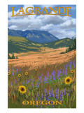 LaGrande, Oregon - Mt. Emily Posters by  Lantern Press