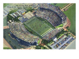 Miami, Florida - Aerial View of the Orange Bowl Posters by  Lantern Press