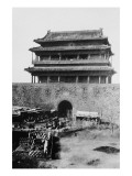 Main Gate of Peking China During Boxer Rebellion Prints