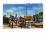 Chicago, Illinois - World's Fair; Enchanted Island Prints by  Lantern Press