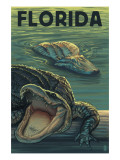 Florida - Alligators Art