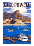 Lake Powell Marina View Print by  Lantern Press