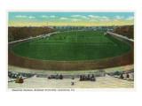 Lewisburg, Pennsylvania - Bucknell University Memorial Stadium View Print by  Lantern Press